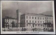 1925 - Lecco - Piazza C. Battisti e Palazzo Demaniale