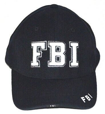 New BEST Snap back FBI Baseball Hat Ball Law Enforcement Cap Embroidered Letters