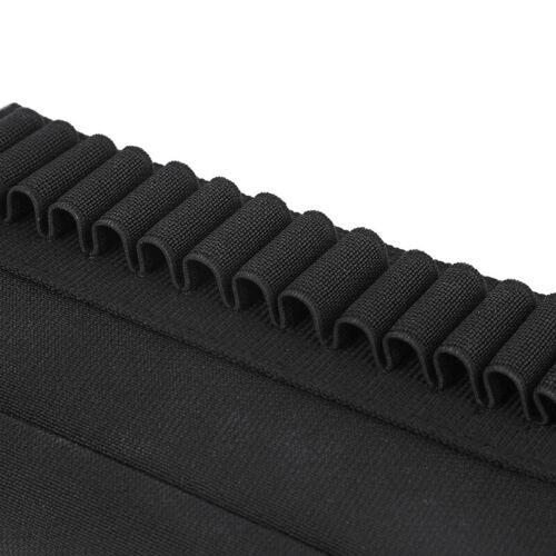 Hunting Shotgun Shell Holder Gun Rifle Buttstock Bullet Carrier For 5.56mm
