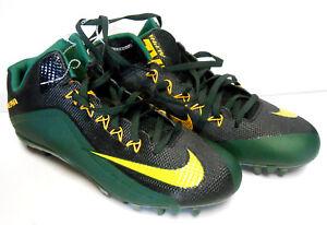 2d39dbd40afd Nike Alpha Pro 2.0 Green Black Packers TD skin Football Cleats ...