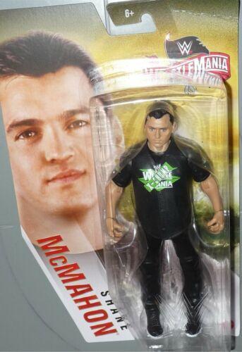 Shane McMahon WWE Mattel Combat 36 Basic Core Wrestling Toy Figure DMG Pkg