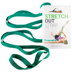 OPTP-Stretch-Out-Strap-with-Instructional-Exercise-Booklet-Green