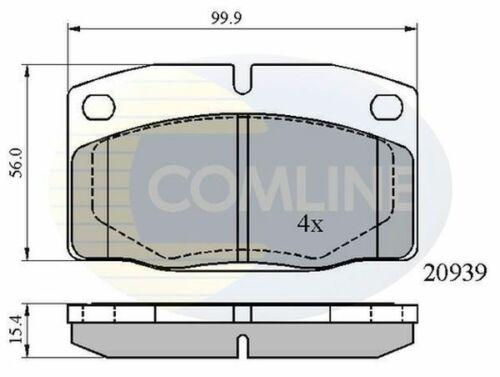 /> 93 Diesel Essence Comline Plaquettes frein avant pour VAUXHALL NOVA 1.0 1.2 1.4 1.5 82