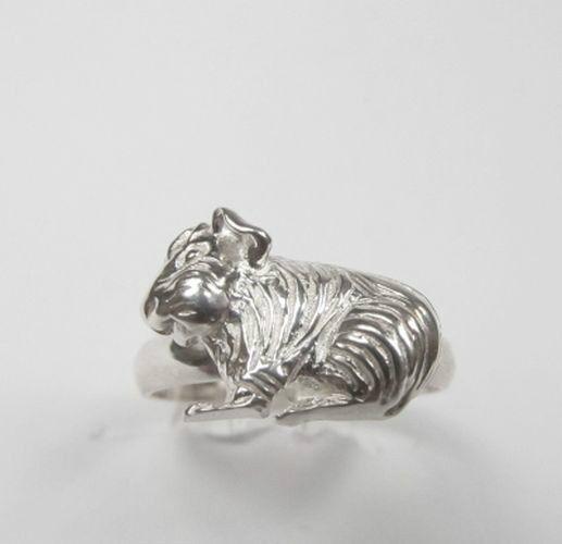 Meerschweinchen  Ring 925er Silber