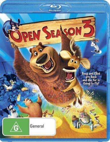 1 of 1 - Open Season 3 Blu-ray As New