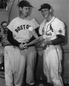 St-Louis-Cardinals-STAN-MUSIAL-Boston-Red-Sox-TED-WILLIAMS-Glossy-8x10-Photo