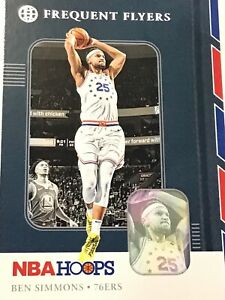 2019-20-NBA-Hoops-Frequent-Flyers-Holographic-10-Ben-Simmons-76ers