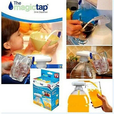 New magic tap electric automatic water & drink dispenser As Seen On TV