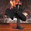 thumbnail 6 - 2/4 Blades Stove Fan for Fireplace Wood Log Burner Heat Powered Eco-Friendly Fan