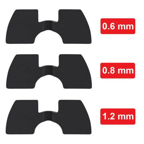 CW/_ 3Pcs 0.6//0.8//1.2mm Rubber Vibration Dampers for Xiaomi M365 Electric Scooter