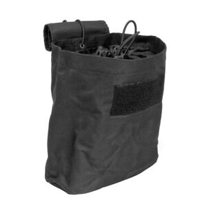 NcStar-CVFDP2935B-BLACK-Tactical-PVC-Small-Utility-Folding-Dump-Pouch