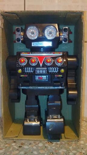 <Missile Robot Made in Japan-HORIKAWA anno 1960/70 articolo 5044-Trade -SH-Mark