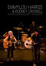 EMMYLOU HARRIS & RODNEY CROWELL EVEN COWGIRLS GET THE BLUES  (DVD)
