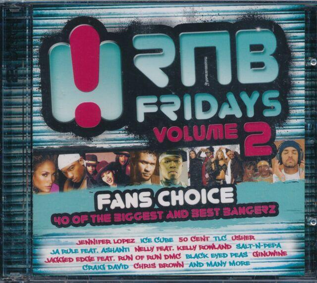 RNB Fridays Volume 2 2-disc CD NEW Fans Choice Ashanti Usher Amerie
