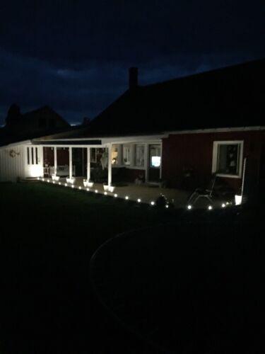 50X47mm Outdoor Path Landscape LED Deck Kickboard Soffit Step Lights Kit 1W 12V