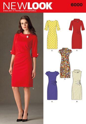 ... Gratis Reino Unido P/&p Nuevo Look Damas patrón de costura vestidos de estilo vintage 6000