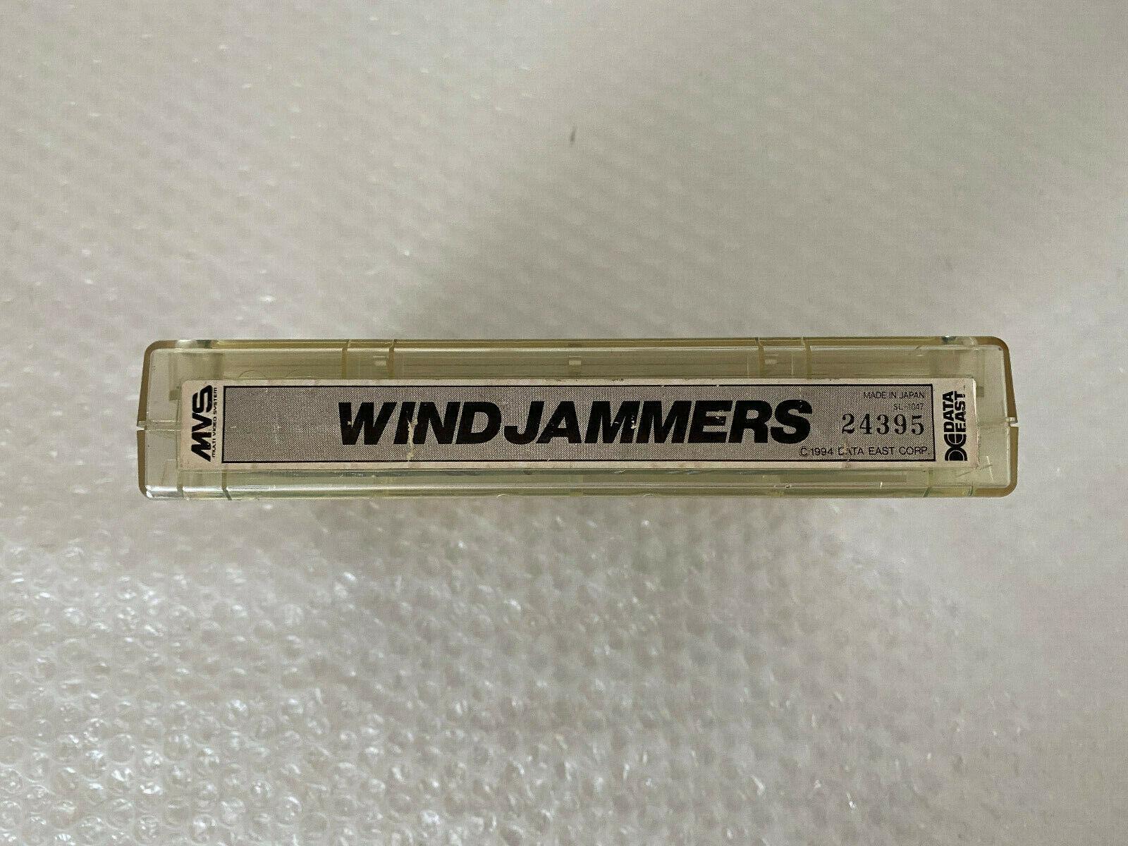 Snk Neo Geo WINDJAMMERS Mvs Excellent condition 100% original