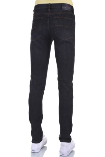 Men Eagle blue jeans Brown Tint stretch skinny Low rise 2/% spandex 28-38