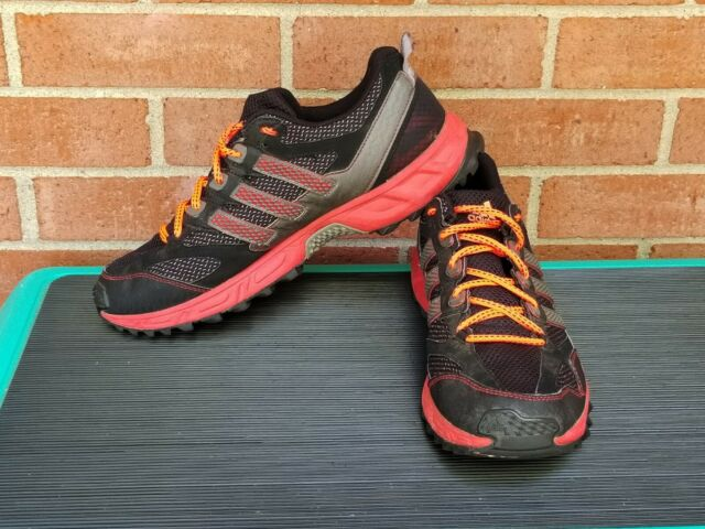 Adidas Kanadia TR 4 Mens Black and Red Trail Running Shoes G47375 US Sz 10