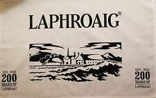 LAPHROAIG SINGLE MALT SCOTCH WHISKY TEA TOWEL