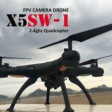 X5SW -1 Wifi RC Quadcopter Drone with HD Camera RTF Black UAV ARF DRONE FPV 2.4G