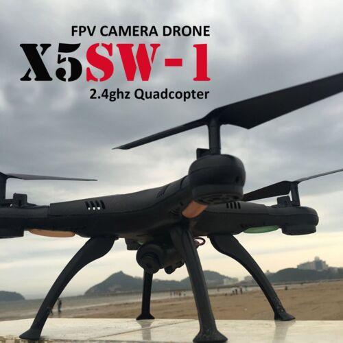 X5SW 1 Wifi RC Quadcopter Drone with HD Camera RTF Black UAV ARF DRONE FPV 2.4G