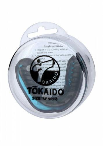 blau mit Box MMA Muay Thai Auch für Kickboxen Tokaido Karate Zahnschutz