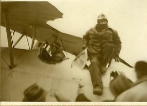 """Paul REYNAUD à sa descente d'avion"" Photo originale G. DEVRED (Agence ROL) 1931 MxGyjp3k-07192841-518454931"