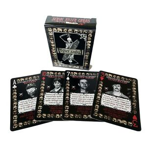 Serial Killer Playing Cards - Deck of 54 unique American Serial Killers