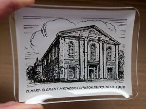 Vintage-Ashtray-St-Mary-Clement-Methodist-Church-Truro-Methodism-John-Wesley
