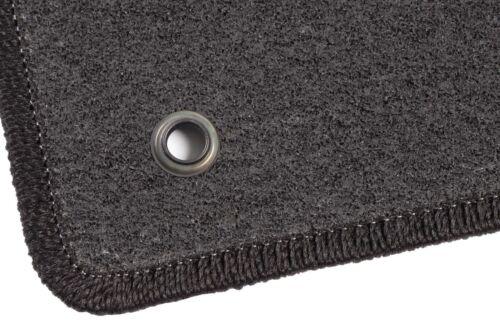 Graphit Textil Fußmatten 2015-2018  Anthrazit Subaru Forester IV 4 FL Bj