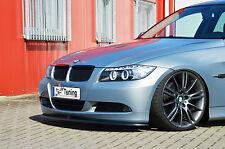 Spoilerschwert Frontspoilerlippe Cuplippe aus ABS für BMW E90 E91 3er mit ABE