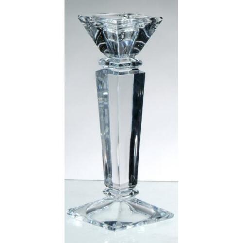 Kerzenleuchter 30cm eckig Formano Kerzenhalter NOBLESSE aus Kristallglas H