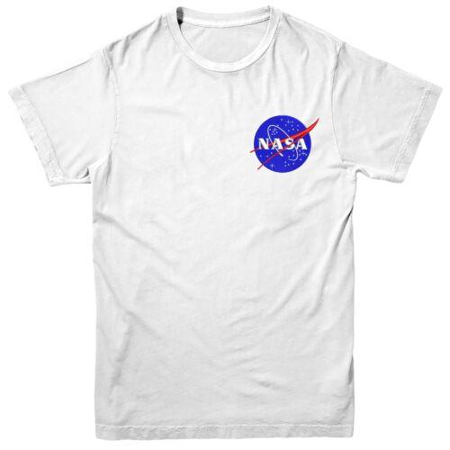 Nasa Logo T-shirt Nasa Space Science Astronaut Embroidered Tee Top