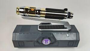 Star-Wars-Disneyland-Galaxy-039-s-Edge-MACE-WINDU-Lightsaber-36-034-Blade-Gift-Set