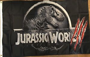 Details about Jurassic World 3 Flag 3x5 2021 Release Banner Movie Dinosaur  Cave Theater