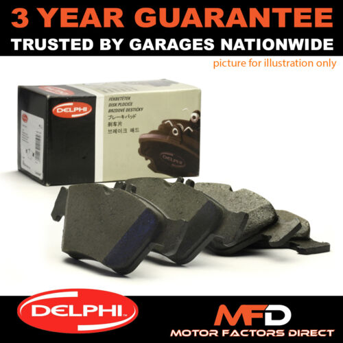 FOR BMW 5 SERIES 520 523 525 TD TDS 528 530 535 540 95-04 REAR DELPHI BRAKE PADS