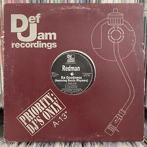 REDMAN-BUSTA-RHYMES-DA-GOODNESS-I-DON-039-T-KARE-12-034-1998-RARE