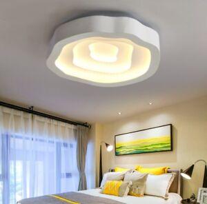 Details zu LED 68W Modern Deckenlampe Wohnzimmer Deckenleuchte Voll Dimmbar  6810