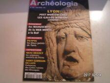 **c Archéologia n°476 La mort à Lugdunum / Tanis / Seigneurs de Mochica