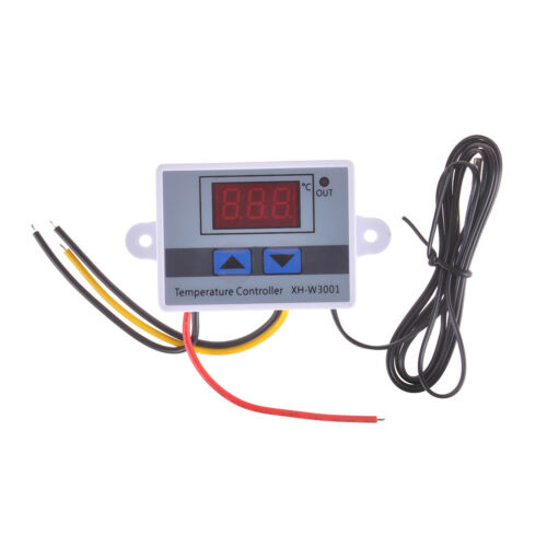 XH-W3001 12V 24V 220V Digital Temperature Thermostat Control Switch Probe HI