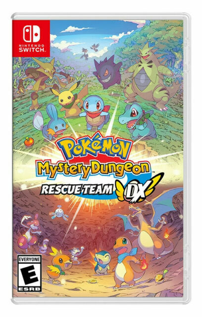 Pokémon Mystery Dungeon: Rescue Team DX (Nintendo Switch, 2020) Brand New