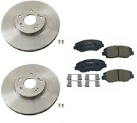 Honda Cr-v 05-06 L4 2.4l Front Brake Kit With Rotors And Pads Premium Quality on sale
