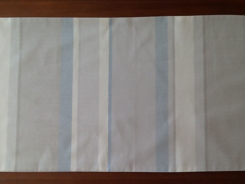 Bed Runner in Laura Ashley Awning Stripe Fabric - Hand Made - New