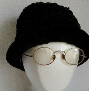 Vintage-Retro-Shuron-Ronstrong-Ful-Vue-P3-12k-Gold-Framed-Optical-Glasses