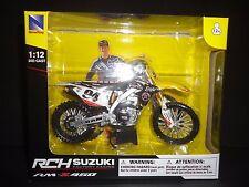 NewRay Suzuki RCH RM-Z450 Factory Racing Dirt Bike Ken Roczen #94 1/12