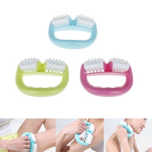 Handheld Full Body Anti Cellulite Massage Cell Roller Massager Back Pain Relief0