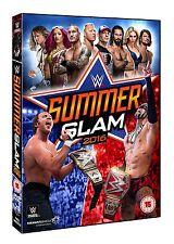 WWE Summerslam 2016 [DVD] *NEU* Region Code 2 Dean Ambrose, Randy Orton, Lesnar