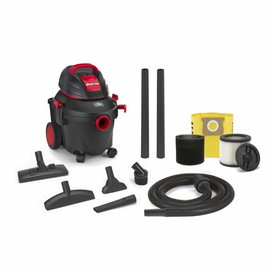 Shop-Vac 4-Gallon 5.5-HP Shop Vacuum
