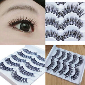 50Pair-Gracious-Makeup-Handmade-Natural-Long-False-Eyelashes-Extension-Exquisite